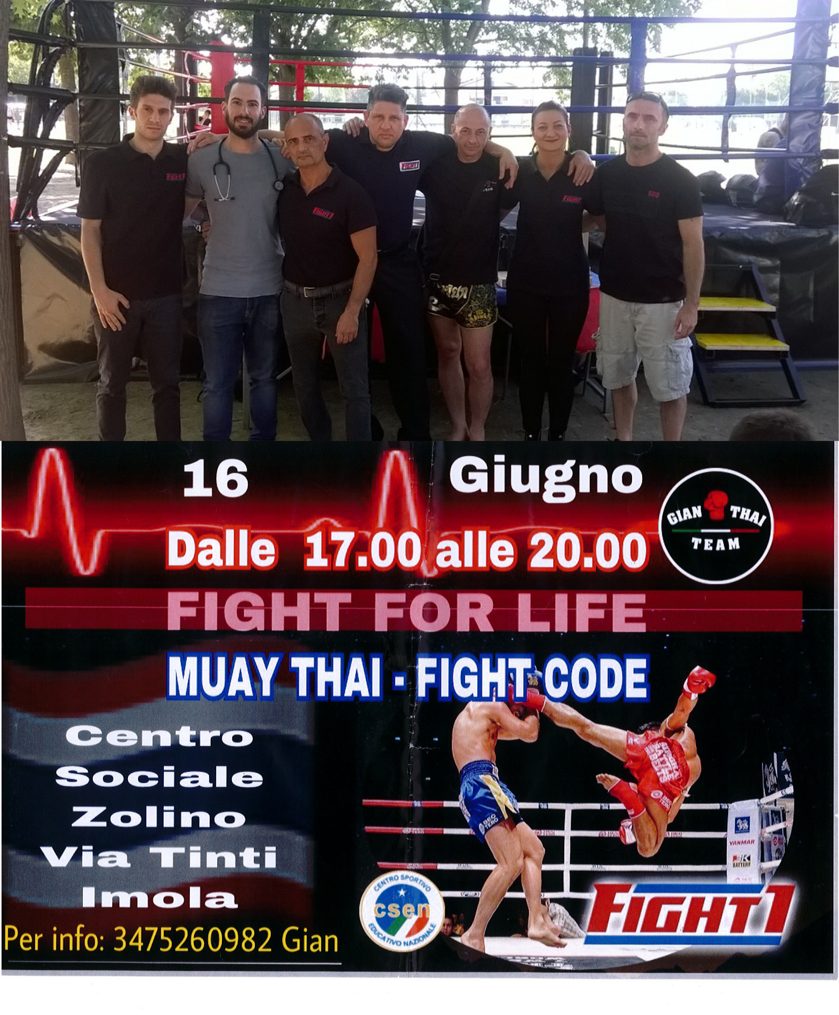 Fight for life 16 giugno 2018